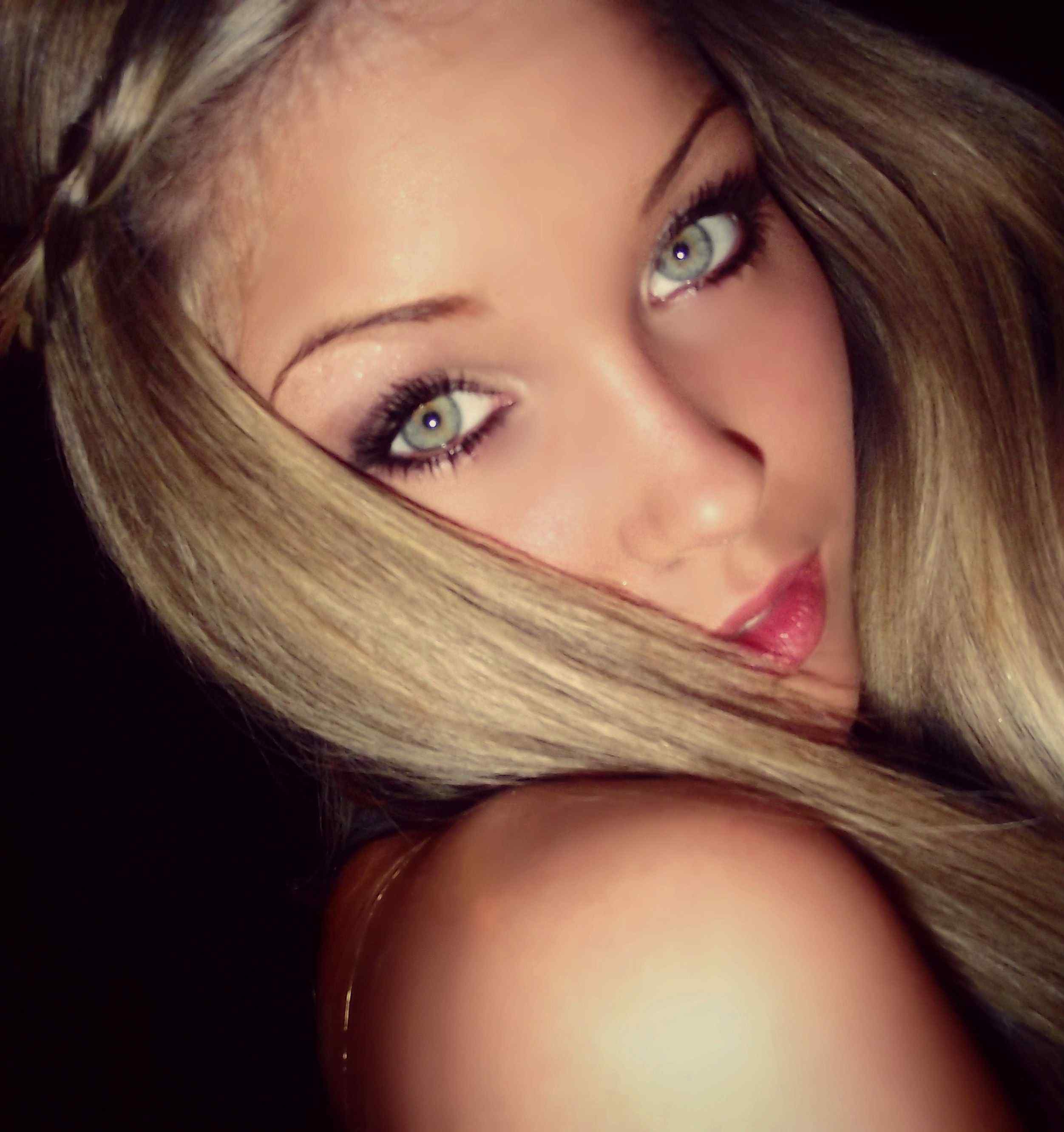 best makeup for green eyes and blonde hair blonde hair
